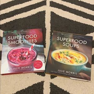 Superfood Smoothies and Superfood Soups Books